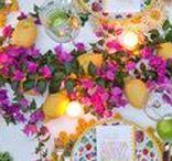 CAPRI & AMALFI COAST BRIDE! / Inspiration mood board & selection of previous weddings & details we have designed in Capri & the Amalfi Coast.  Get in the mood