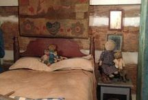 Primitive bedrooms / by Candi Fry