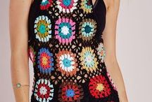 Granny Square Chic LOVE! / Go-Go-Gorgeous Granny Squares, not just for grannies!