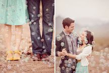 Engagement Shoot Inspiration / Ideas for a simple and tasteful engagement photo shoot
