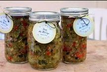 Favorite canning recipes. / by Ronna Harness-Barber