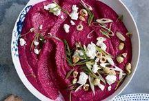 Rote Bete-Rezepte / Sie färbt alles was ihr in die Quere kommt: das Powerpaket mit dem herrlich herb-süßen Geschmack. #Beetroot