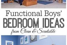 My Boy's Room / Ideas for My Two 8 Year Old Boy's Bedroom. / by Shana Reyes
