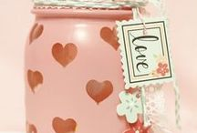 DIY   Valentines Day Inspiration / Valentines Day crafts, DIYs, and cute gift ideas for the loves of your life!