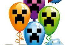 Minecraft Crafts & Party ideas / Memphis is wanting a Minecraft party for his birthday! / by Karen Powell Ford