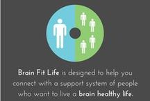 Brain Fit Life / A step by step program that  will guide you to a happier and healthier life. You will be provided with brain games, stress reducers, meal plans, relaxation techniques, and more all targeted to your brain's specific needs. www.brainfitlife.com/fb