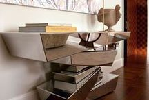 Mirrored console table / Mirrored furniture for elegant rooms