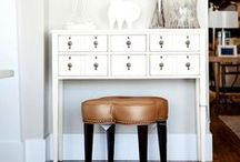 Console Table with Storage / Console Table with Storage