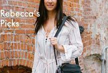 Rebecca's Picks / Rebecca Minkoff's personal faves