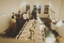 Little Party / Tablescapes and beautiful settings.  / by Hannah Eleanor