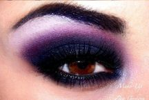 MAKEUP / Simple and dramatic ideas, tutorials  / by Katelyn Hall