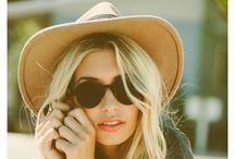 I'm a shades & hat kind of gal / by AJ Bordeau