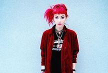 90s Inspired Grunge Style / by Hannah Eleanor