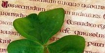"""Céad Míle Fáilte / """"Now sweetly lies old Ireland /  emerald green beyond the foam, /  awakening sweet memories, /  calling the heart back home.""""  ~Irish Proverb"""