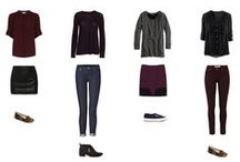 Capsule Wardrobe / All things about building a wardrobe capsule