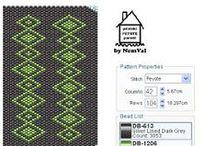 pénteki PEYOTE parádé by NemVal / Szabadon felhasználható peyote mintáim - my free peyote patterns