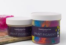 Our Products / A variety of Donald Kaufman Color products are available to suit your project needs. Our new Paint Pigments deliver our unique color to your project, in convenient jars that can be mixed into gallons at your local paint dealer. Blended Gallons are also available for purchase online and through our Retailers. DKC Color Cards are sold as full sets or as single colors and DKC Color Tests will assist you with color planning and selection.