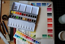 Art supplies / This is one of my passions, basically any form of art supplies, anything I can be creative with.
