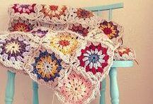 crochet tutorials blankets / by Jeannette