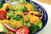 Gorgeous Healthy Salad Recipes / Healthy beautiful salads in all their glory! / by Jeanette | Jeanette's Healthy Living