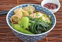 Favorite Asian Noodle Soups / Noodle and Pasta recipes from all over Asian - Japan, China, Korea, Thailand, Vietnam and more