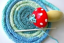 French/Spool knitting tutorials / French knitting, spool knitting, punniken.  / by Jeannette