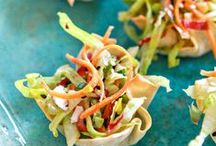 Healthy Party Appetizers! / Finger foods, dips, fancy and casual ~ fun, healthy ideas for all your parties!
