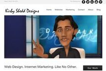 Kirby Shedd Designs / Kirby Shedd Designs is a digital marketing consultancy with a uniquely holistic approach to website design, brand development and internet marketing solutions for businesses, organizations, entrepreneurs & individuals who are looking to start, grow or improve their online brand presence.