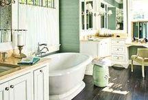 washroom / bathroom, lavatory, powder room, the loo / by Kala Thaxton