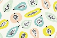 color schemes + patterns / by Kala Thaxton