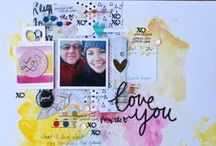 Cocoa Daisy February 2015:  Journal Entry / We carefully curate Scrapbooking, Day in the Life (Project Life or pocket scrapbooking), Day Planner (organizers, filofax, kikkik, planner), and Art Journaling kits every month. / by Cocoa Daisy Scrapbooking