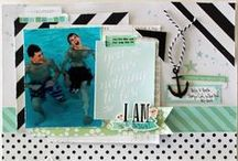 Cocoa Daisy May 2015:  Sage + Mint / We carefully curate Scrapbooking, Day in the Life (Project Life or pocket scrapbooking), Day Planner (organizers, filofax, kikki k, planner), and Art Journaling kits every month. / by Cocoa Daisy Scrapbooking