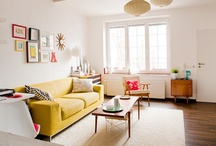 Home // Living Rooms / by Kim