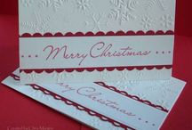 Christmas Cards  / Cards I find interesting/pretty/inspiring