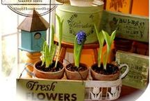 Spring has Sprung / Fresh Spring Ideas for Decorating