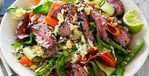 Salad Recipes / Whether it is the star of the meal or the perfect side dish, this is a collection of the best.