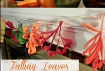 Crafts - fall / by Melissa French: More With Less Mom & HousePunkery