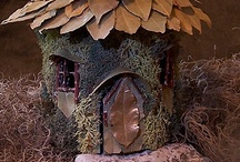 Fairy house / by Melissa French: More With Less Mom & HousePunkery