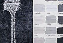 OldBASICS | Verftinten / Inspiratie voor verfkleuren die passen bij een landelijk brocante inrichting (shabby chic en landhausstil)
