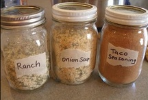 Recipes - Homemade stuff that is food / From scratch, substitutes for processed food...