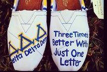Delta Delta Delta  / Nostalgia for my past as a sorority girl  / by Amy Enbysk