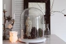 OldBASICS | Stolp / Leuk zo'n brocante stolp; je kunt er zo veel mee doen. Hier diverse decoratie ideeen!