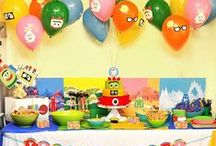 Birthday parties / by Maryam Wolff
