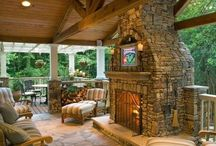 Porches and Outside Spaces / Ways to enjoy the outdoors at home.
