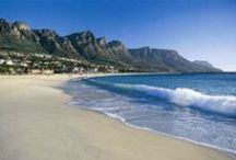 South African Beaches / The colder Atlantic Ocean and the Warmer Indian Ocean both offer incredible beach vacation destinations in South Africa.  / by Findtripinfo.com