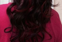 Hair - Red and Brown