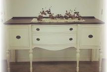 Milk Paint / I Love Using Milk Paint Top Update Vintage Furniture To Purchase Miss Mustard Seed Milk Paint. Visit my Facebook Page SimplyHomeSweetHome   https://www.facebook.com/Simply-Home-Sweet-Home-306647762682894/