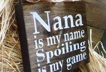 Grandbabies / How to spoil a grandbaby!