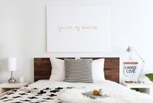 The Game of Love- Dreamy Bedrooms / Bedroom styles we're loving!  Break up with your Bedtime Routine!  www.mygameoflove.com / by East Coast Creative