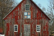 Barn Quilts / Barn quilt trails, art for barns and houses.